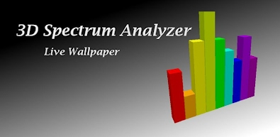 3D Spectrum Analyzer Live Wallpaper